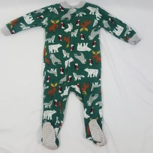Footed Pajama Onsie Size 18 Months